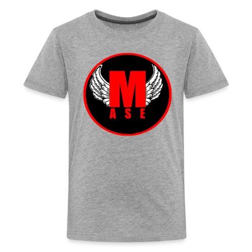 Mase shirt logo, korte mouwen. - Kids' Premium T-Shirt