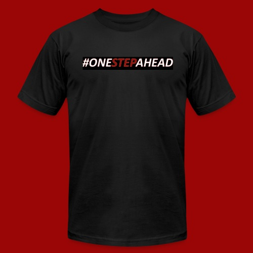One Step Ahead - Men's  Jersey T-Shirt