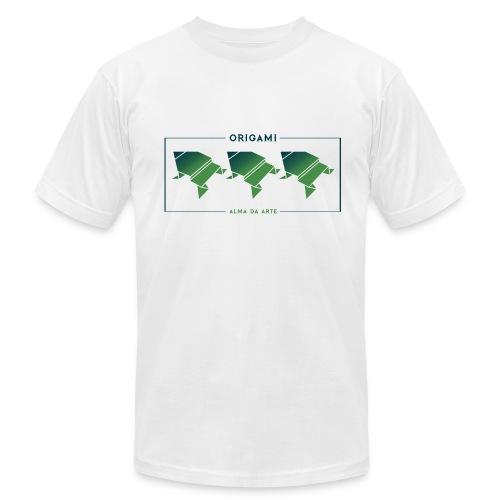 Origami Frogs Men's T-Shirt - Men's Fine Jersey T-Shirt