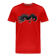 T-Shirts ~ Men's Premium T-Shirt ~ lucky dragon
