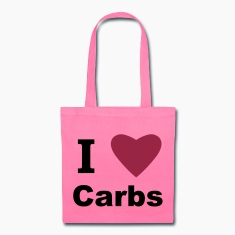 I Love Carbs! Bags & backpacks