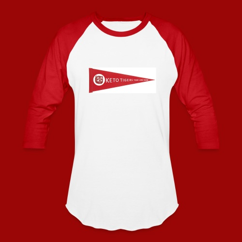 Keto Tigers - Baseball T-Shirt