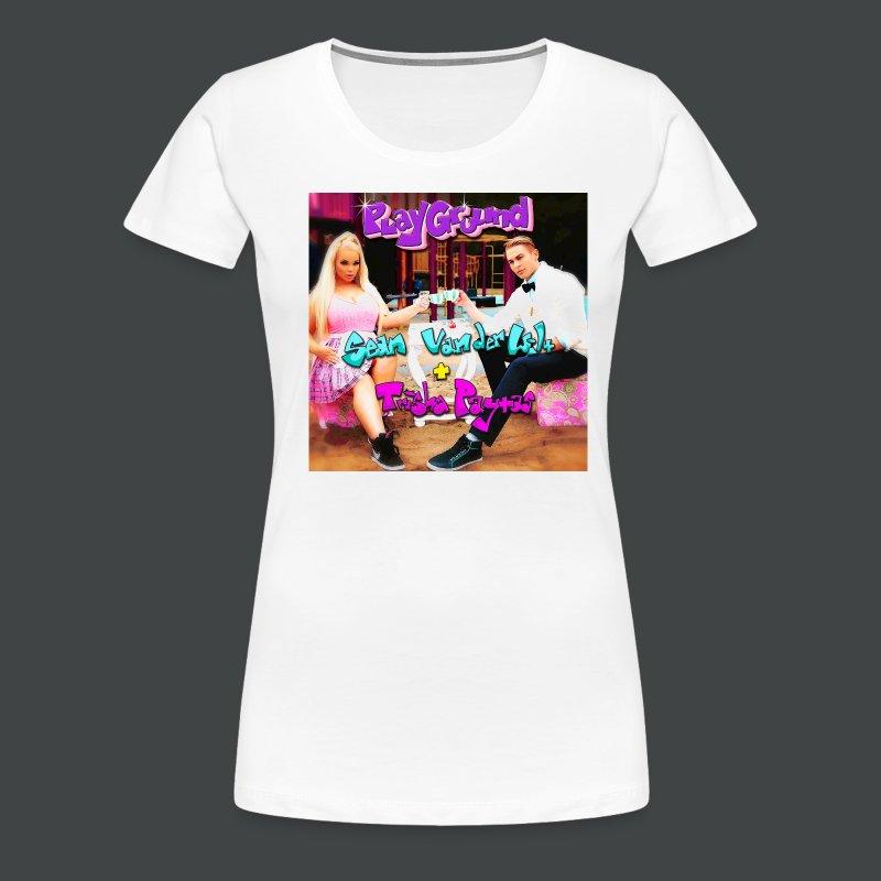 Sean van der Wilt + Trisha Paytas PlayGround Cover Art T-Shirt - Women's Premium T-Shirt