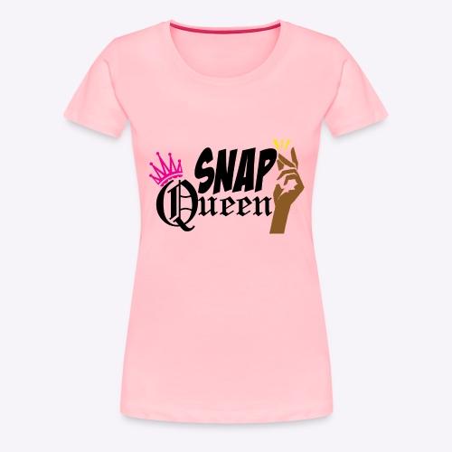 Snap Queen Tee - Women's Premium T-Shirt