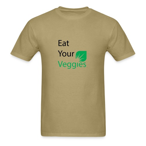 Eat your veggies - Men's T-Shirt