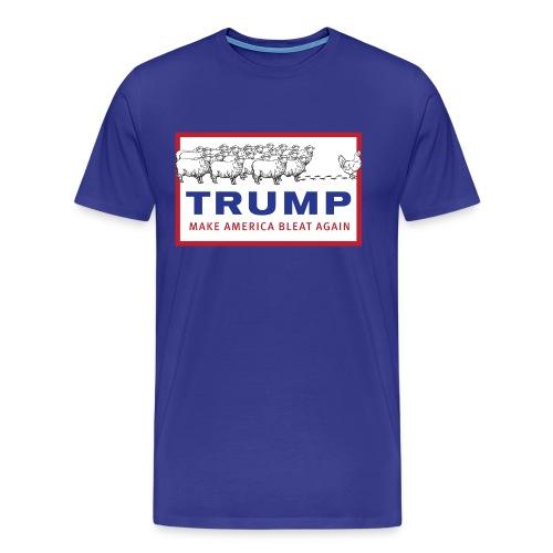 Make America Bleat Again Shirt - Men's Premium T-Shirt