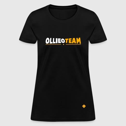 Womens OllieOTeam + Logo Tshirt - Women's T-Shirt