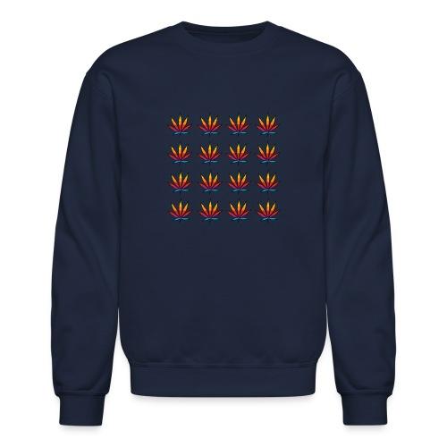 Multi color leaf - Crewneck Sweatshirt
