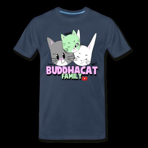 BuddhaCat & Family Premium T-Shirt - Men's Premium T-Shirt