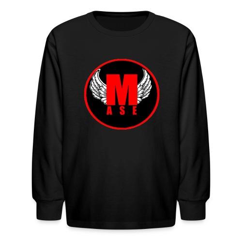 Mase lange mouwen shirt met logo. - Kids' Long Sleeve T-Shirt