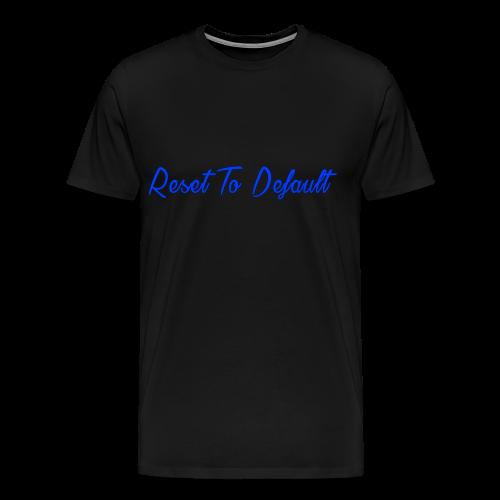 Reset To Default - Men's Premium T-Shirt