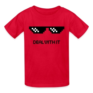 Deal With it kids - Kids' T-Shirt