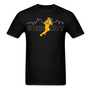 STEEL City Football Player - Men's T-Shirt