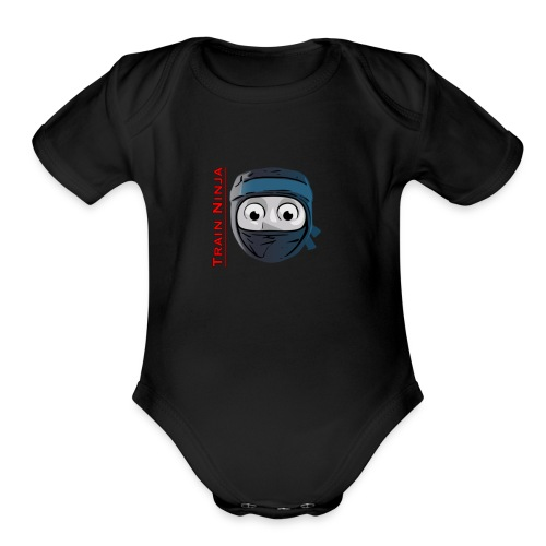 Accidents Happen - Organic Short Sleeve Baby Bodysuit
