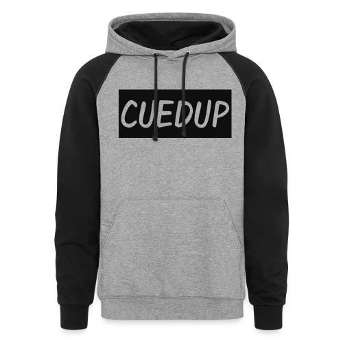 CuedUp Hoodie - Colorblock Hoodie