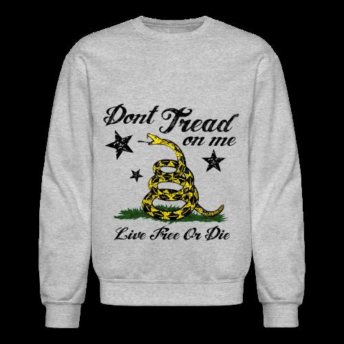 DTOM, Live Free or Die Sweater - Crewneck Sweatshirt