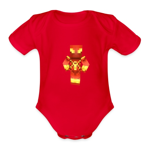 MrSeaCrabs Toddlers T-Shirt - Organic Short Sleeve Baby Bodysuit