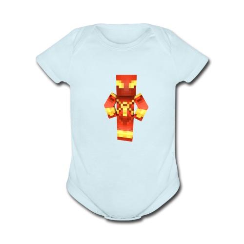 MrSeaCrabs Toddlers T-Shirt - Organic Short Sleeve Baby Bodysuit