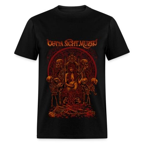 Outta Sight Muzik 'Cult' Tee - Men's T-Shirt