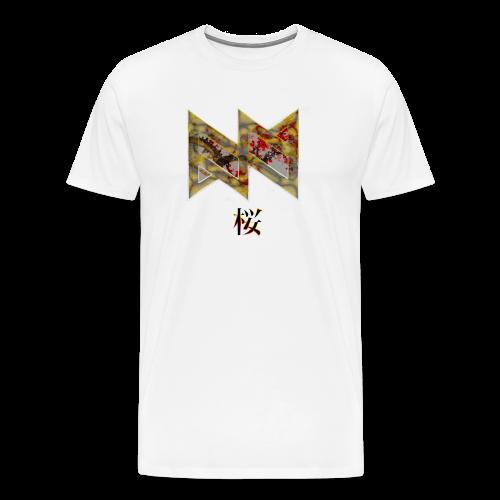 Cherry Blossom - Men's Premium T-Shirt