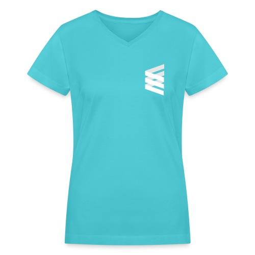 EDGE v-neck t-shirt for women - Women's V-Neck T-Shirt