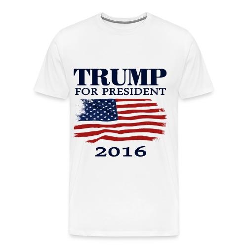 Trump 2016 For President - Men's Premium T-Shirt