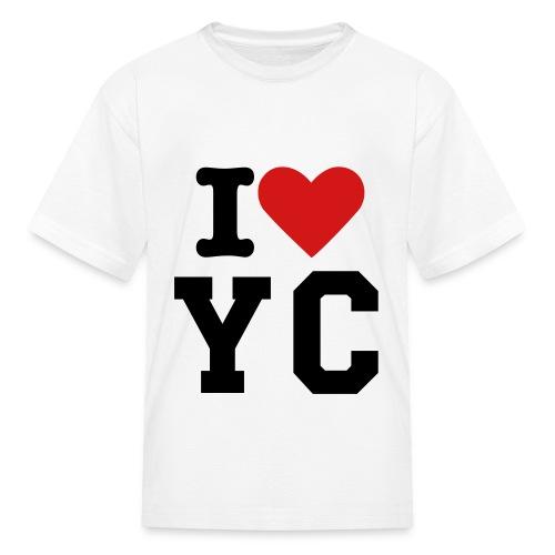 i love yc - Kids' T-Shirt