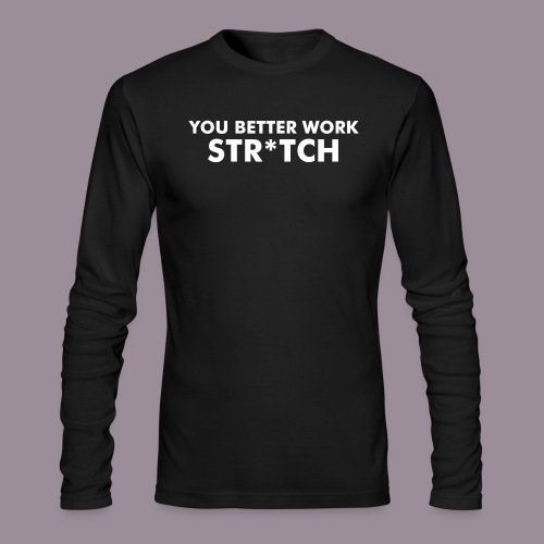 WORK STRITCH MEN'S LONG SLEEVE T - Men's Long Sleeve T-Shirt by Next Level