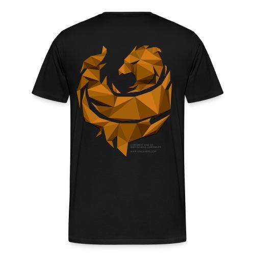 Orange Poly Phoenix - Men's Premium T-Shirt