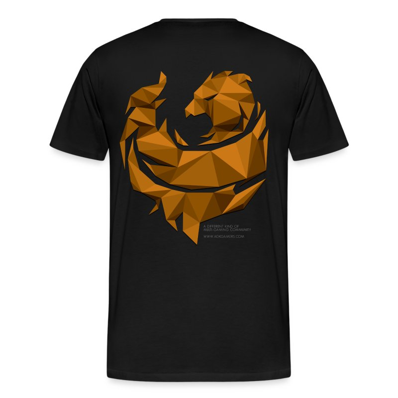 Orange Poly Phoenix - Men's Premium T-Shirt