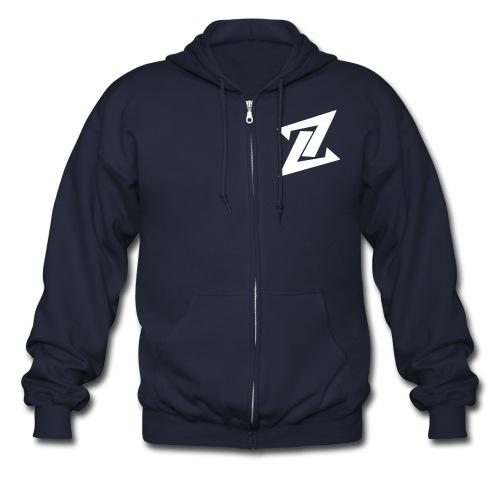 Zyro Men's Zip-Up Hoodie - Men's Zip Hoodie