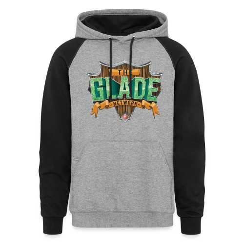The Glade Network Womens Colorblock Hoodie - Colorblock Hoodie