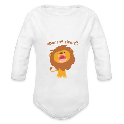 Roar Rompers - Organic Long Sleeve Baby Bodysuit
