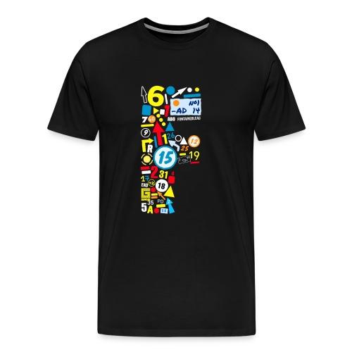 font marks - Men's Premium T-Shirt