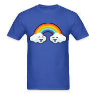 T-Shirts ~ Men's T-Shirt ~ Clouds and rainbow