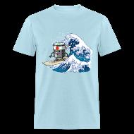 T-Shirts ~ Men's T-Shirt ~ Sushi surfing