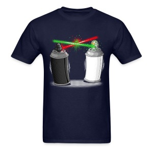 Graffiti wars - Men's T-Shirt