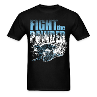 T-Shirts ~ Men's T-Shirt ~ Fight the powder