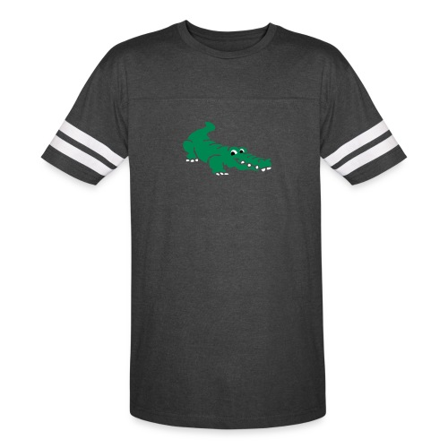 Alligator Croc by patjila2 - Vintage Sport T-Shirt