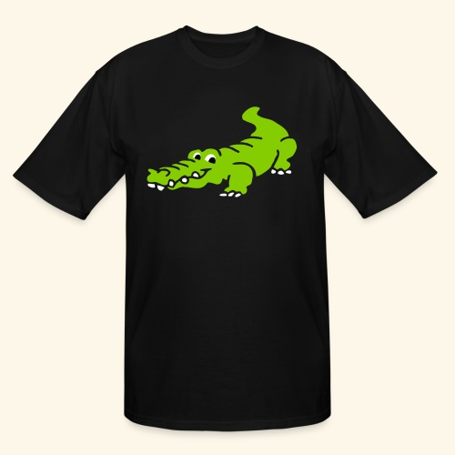 Alligator Croc by patjila2 - Men's Tall T-Shirt