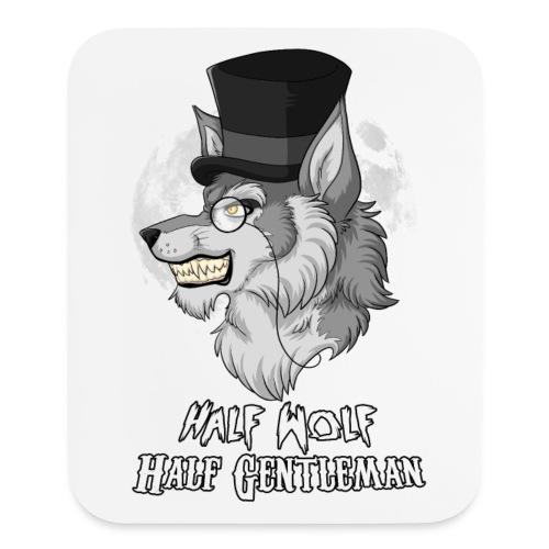 Half Wolf Half Gentleman - Vertical Mousepad - Mouse pad Vertical