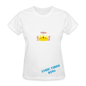 Lyric Video King - Men's T-Shirt - Women's T-Shirt
