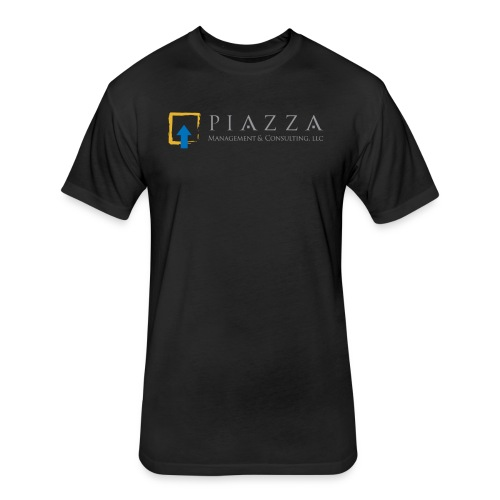 PM&C logo - Fitted Cotton/Poly T-Shirt by Next Level