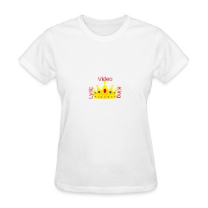 Lyric Video King - Women's T-Shirt - Women's T-Shirt