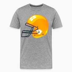 American gold football gridiron helmet T-Shirts