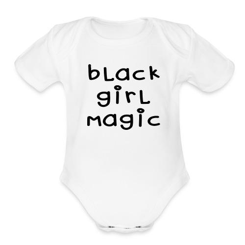 Magic - Organic Short Sleeve Baby Bodysuit