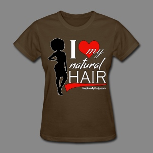 Love Natural Hair (Afro) - Women's T-Shirt
