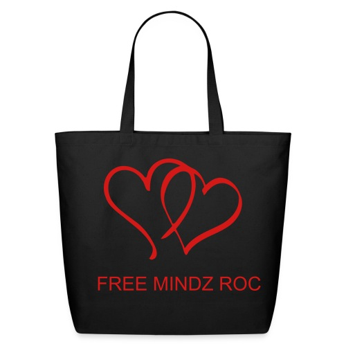 FREE MINDZ ROC TOTE BAG - Eco-Friendly Cotton Tote