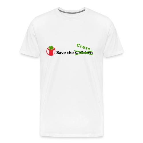 #SaveTheCress T-Shirt - Men's Premium T-Shirt