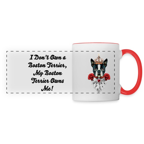 Boston Terrier Coffee Mug - Panoramic Mug